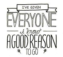 Everyone I Know by zarayow