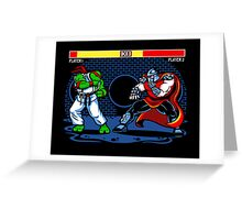 Sewer Fighter Greeting Card