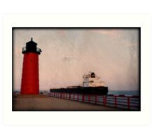 Pierhead Lighthouse © Art Print