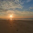 Beach Sunrise by GandK