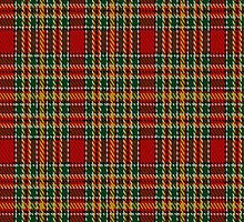 01967 Chattan (variation) Clan/Fabric Tartan Fabric Print Iphone Case by Detnecs2013
