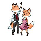 Fox Dancers by WeileAsh