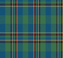 01972 Chieftain's Tartan Fabric Print Iphone Case  by Detnecs2013