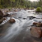 Morning at Cochable Creek - Tully Gorge, Far North Queensland. by RichardCurzon
