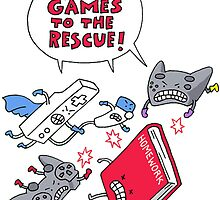 Video Game to the rescue by stylishtech