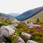 Wicklow Mountains National Park in Oils by SMCK