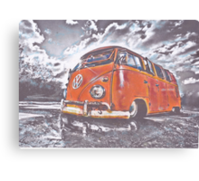 Puddle Jump Canvas Print