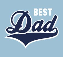 BEST Dad Tail-Design 2C Navy/White by MILK-Lover