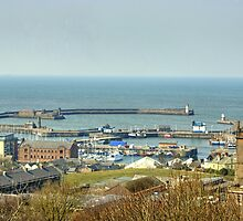 Whitehaven Harbour by VoluntaryRanger