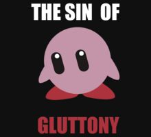 Kirby Is Gluttony (Black) by blueking