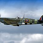 Supermarine Spitfire Mk IX PL344/T-LB G-IXCC by Andrew Harker