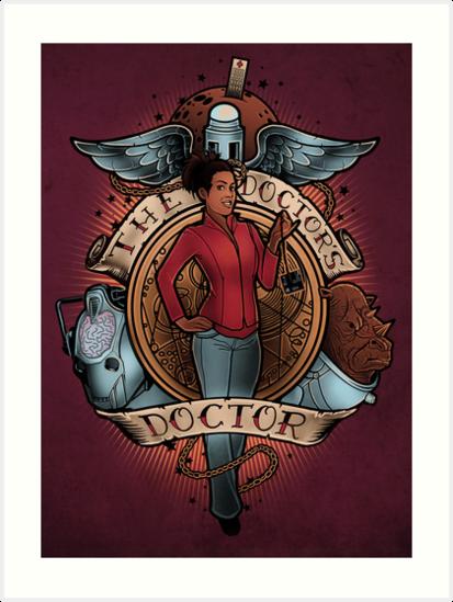 The Doctor's Doctor - PRINT by MeganLara