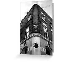 The Pineapple Pub Kentish Town London Greeting Card