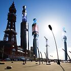 Blackpool Vaper Towers by craig sparks