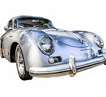 1956 Porsche 356A 1600s Speedster German Sports Car  by chris-csfotobiz