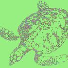 green turtle by lainer15