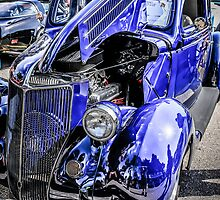 1936 Ford Coupe American Classic Car  by chris-csfotobiz