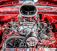 426 Hemi Ram Air Hot Rod Engine by chris-csfotobiz