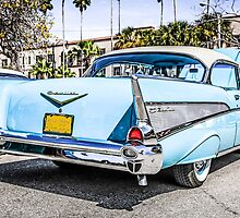 1953 Chevrolet Bel Air Classic American Car by Chris L Smith
