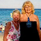 Maureen And Me In Jamaica 2010 by lynn carter