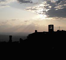 Tuscan Evening by Lauren Kaufmann