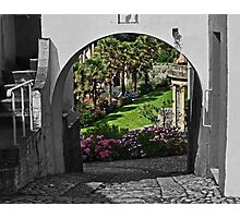 Italianate Garden Photographic Print
