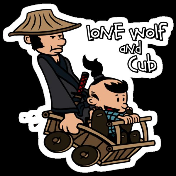 LoneWolf & Cub by Baznet