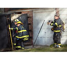 Fireman - Hats - Pick a hat, any hat  Photographic Print