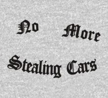 No More Stealing Cars by Lauren F