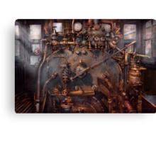 Train - Engine - Hot under the collar  Canvas Print