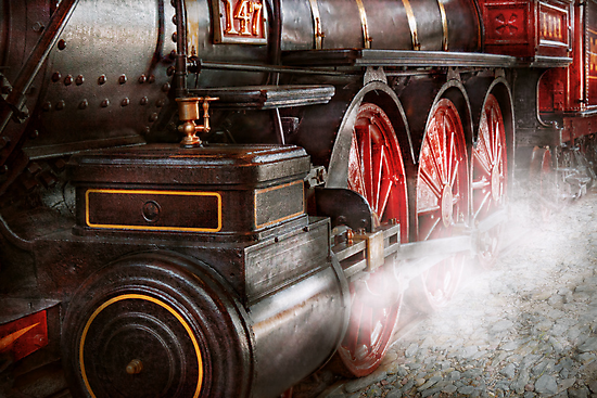 Train - Let off some steam  by Mike  Savad