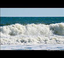 Atlantic Ocean Waves - Westhampton Beach, New York by © Sophie W. Smith