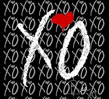The Weeknd XO - white by biaxo