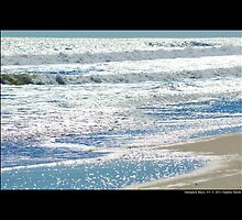 Atlantic Ocean Afternoon Glitter - Hampton Bays, New York by © Sophie W. Smith