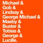 Arrested Development Names by afternoonTlight