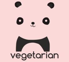 Vegetarian Panda Kids Clothes