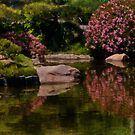 Spring in the Japanese Garden by Celeste Mookherjee