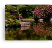 Spring in the Japanese Garden Canvas Print