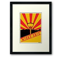Dalek Destructivism Framed Print