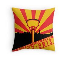 Dalek Destructivism Throw Pillow