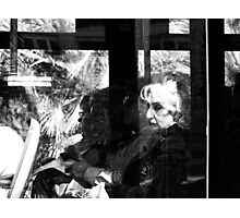 Through a Dirty Window Photographic Print