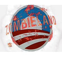 Zombie Land Photographic Print
