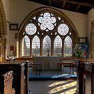 Bedale church window by jasminewang