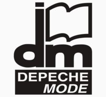 Depeche Mode : DM Logo 1986 - 2 - Black by Luc Lambert