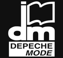 Depeche Mode : DM Logo 1986 - 2 - White by Luc Lambert