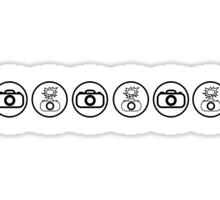 SLR Camera icons Sticker