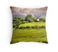 Cobstone Windmill - Turville - Orton Throw Pillow