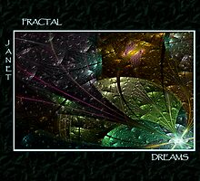 FRACTAL DREAMS - Front Cover by BuddhaKat