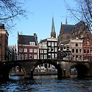 Amsterdam - Canals, Houses & Bridges  by rsangsterkelly
