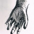 Reach- A Hand in Charcoal by Square-Orange